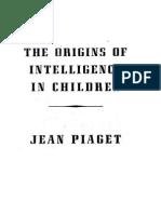 Origins of Intelligence in the Children
