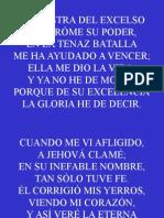 Himno 55;La Diestra Del Excelso