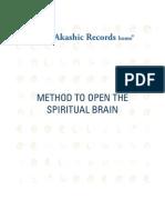 METHOD TO OPEN THE SPIRITUAL BRAIN
