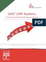 DC DDOT LEAP Training Matrices
