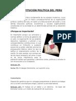 La Constitución Política Del Peru