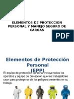 Elementos de Proteccion Personal y Manejo Seguro De Cargas