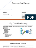 Data Warehouse and Design Presentation