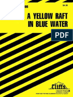 A Yellow Raft in Blue Water (Cliffs Notes)