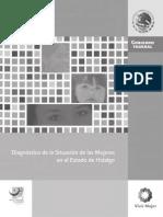 Diagnostico de Situación de La Mujer en Hidalgo Osorio Chong