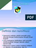 Presentasi Dementia Vascular