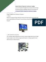 29 Perangkat Keras Komputer Beserta Fungsi Dan Gam