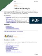 Media Player Help