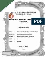 Monografia Del Zapallo