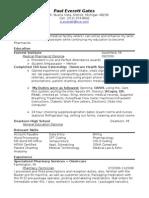 Jobswire.com Resume of peverett_1
