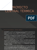 Proyecto de Inversión Central Termica