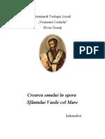 Crearea omului în opera