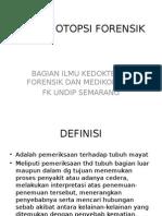 E. Tehnik Otopsi Forensik