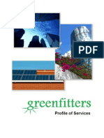 GreenFitters Profile of Services for Commercial Properties