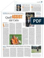 Quell'assist dal Cielo