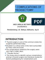 komplikasi tiroidektomi