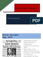 Modern American History Ppp