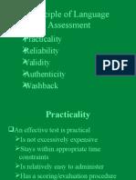 Muf Muf Principle of Language Assessment