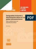 La discriminación en la región de América Latina