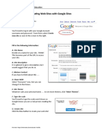 Google Sites Tutorial 2009