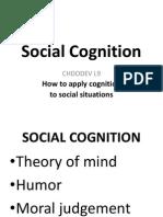 Handout Social Cognition