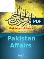 pakistan affairs