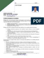 CV Akbar Alam Khan
