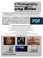 as capturing motion project brief