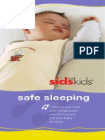 Sids Kids Safe Sleeping