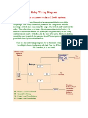12 Volt Dc Relay Wiring Diagram from imgv2-1-f.scribdassets.com