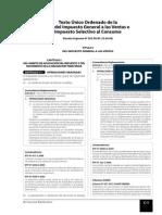 Ley Igv y Reglamento - 2015