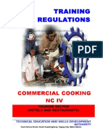 TR Commercial Cooking NC IV
