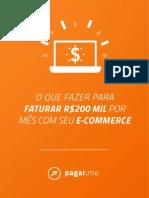 O Que fazer Para faturar 200 Mil Reais Por Mês Com Seu E-commerce
