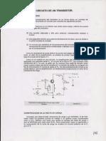 14 Analisis Del Circuito de Un Transistor