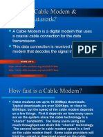Cable Modems0