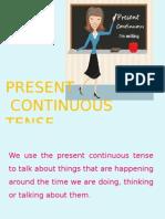 Present Continuous Tense (1)