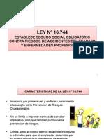 Presentación Modificada Ley 16.744