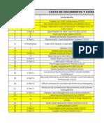 Costos Documentos AAR