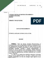 Sumario del Juzgado Central de España que vincula a ETA, FARC y Chávez