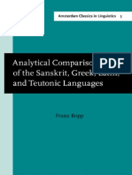 (Amsterdam Classics in Linguistics, 1800-1925) Franz Bopp, Prof. Dr. E.F.K. Koerner-Analytical Comparison of the Sanskrit, Greek, Latin, and Teutonic Languages, shewing the original identity of their .pdf