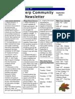 September Newsletter 2015