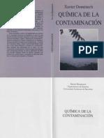 Biologia - Quimica de La Contaminacion - FL
