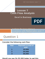 Lessons Lesson7 Excel in Business_Lesson7