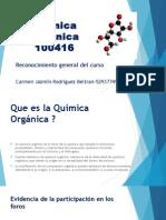 Reconocimiento General Del Curso quimica organica
