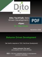 Dito TechTalk - rSpec by Breno da Mata