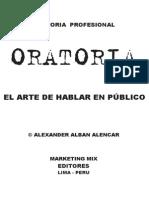 Libro - Oratoria Profesional El Arte de Hablar en Publico