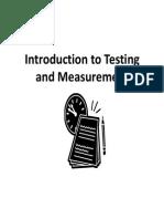 tests and measurements presentation