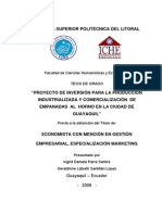 PROYECTO DE EMPANADAS