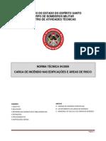 NT 04-2009 - Carga Medidas de Segurança Contra Incêndio e Pânico Nas Edf. e Áreas de Risco