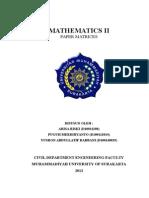 3. Mathematics II-matrices